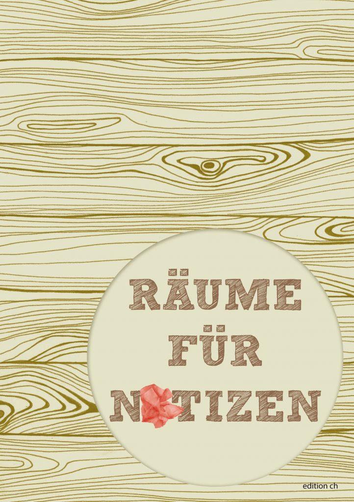 Cover räume für notizen Andrea Zámbori