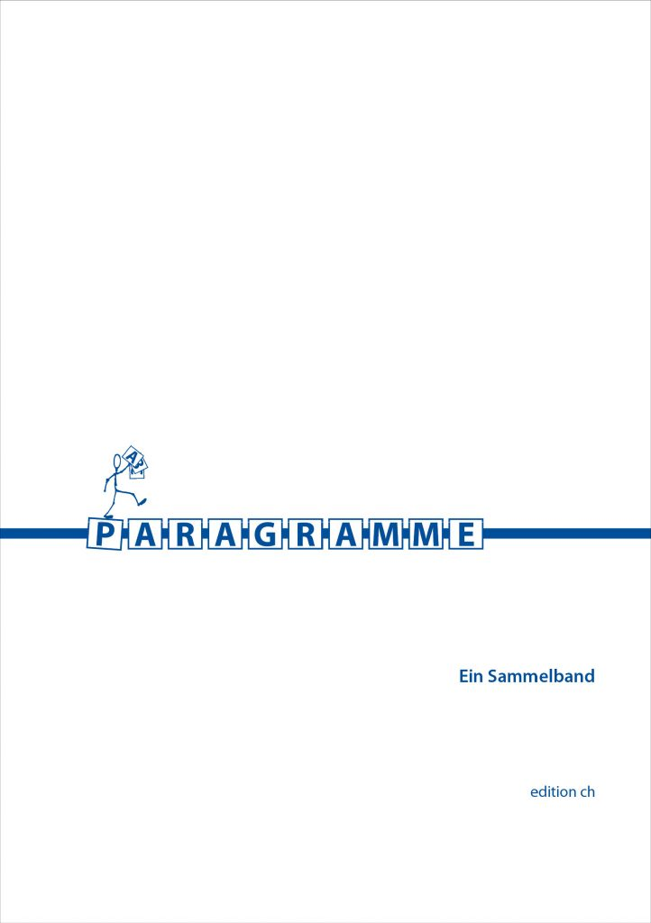 Cover Paragramme Günter Vallaster
