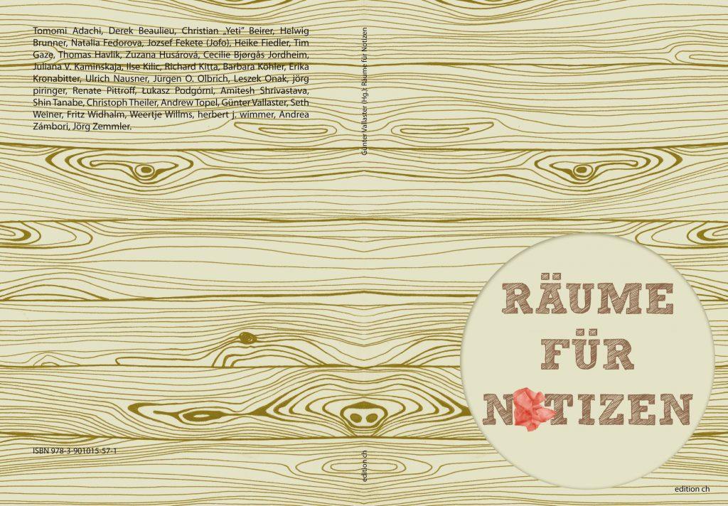 Cover räume für notizen Andrea Zámbori 2014