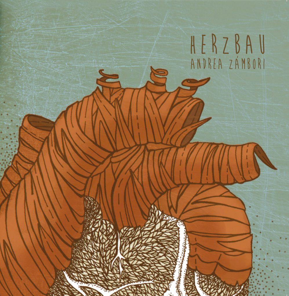 Cover Andrea Zámbori Herzbau