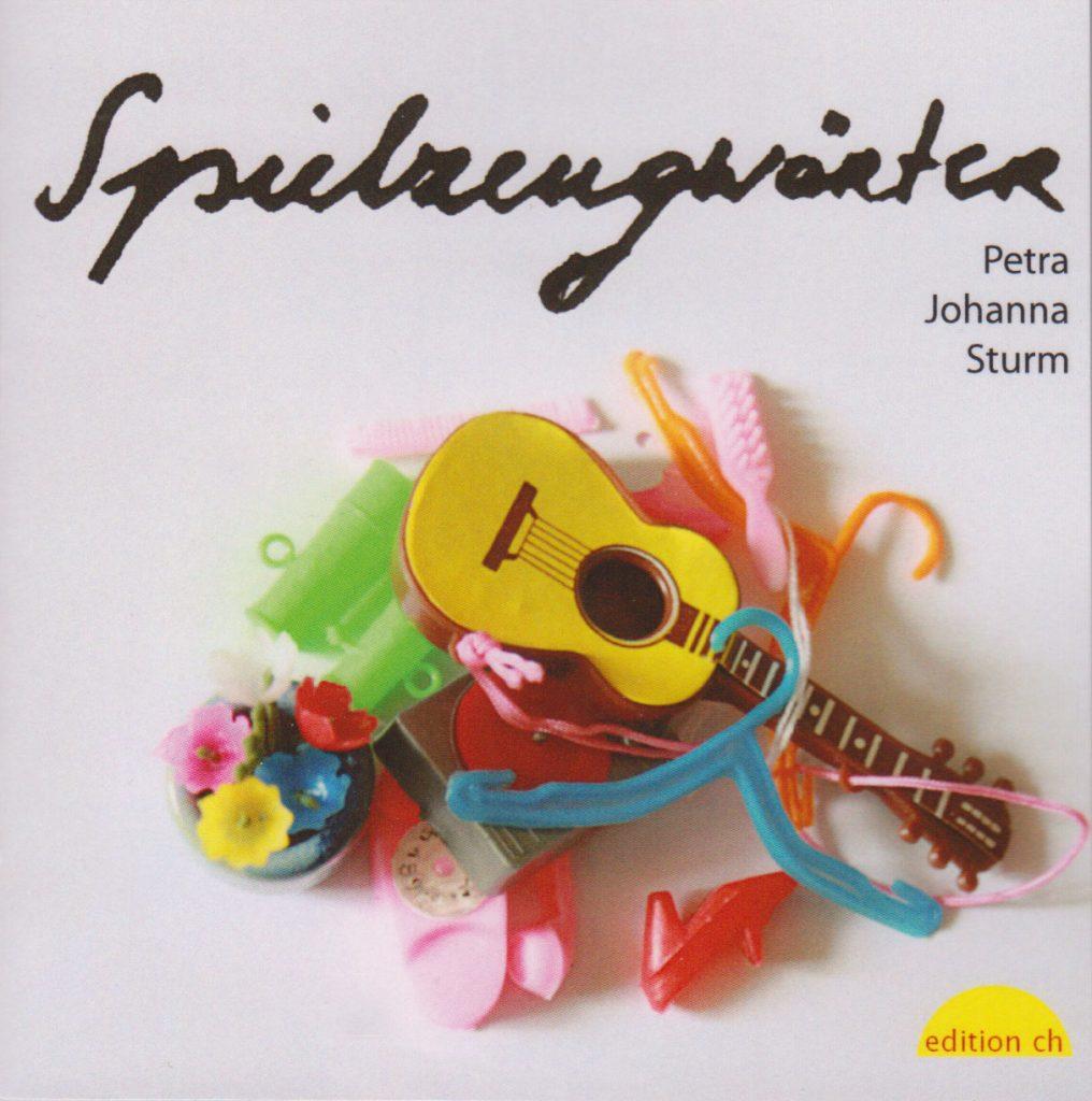 Cover Petra Johanna Sturm Spielzeugwörter