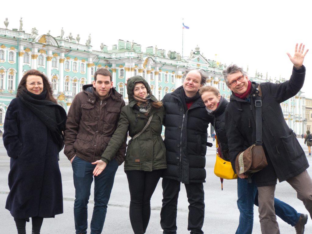 Juliana Kaminskaja, David Patay, Andrea Zámbori, Günter Vallaster, Sylvie Barbero-Vibet, Alain Barbero